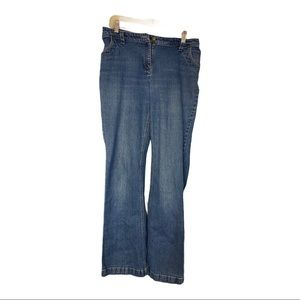 CHRISTOPHER & BANKS,women's distressed jeans,Sz 10